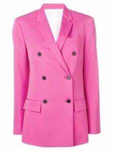 Calvin Klein 205W39nyc structured blazer - Pink