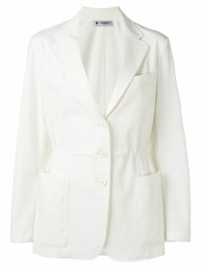 Barena tailored structured blazer - White