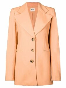 Khaite long line blazer - Orange