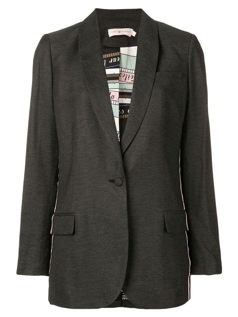 Tory Burch single-breasted blazer - Grey