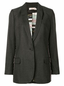 Tory Burch single-breasted blazer - Grey