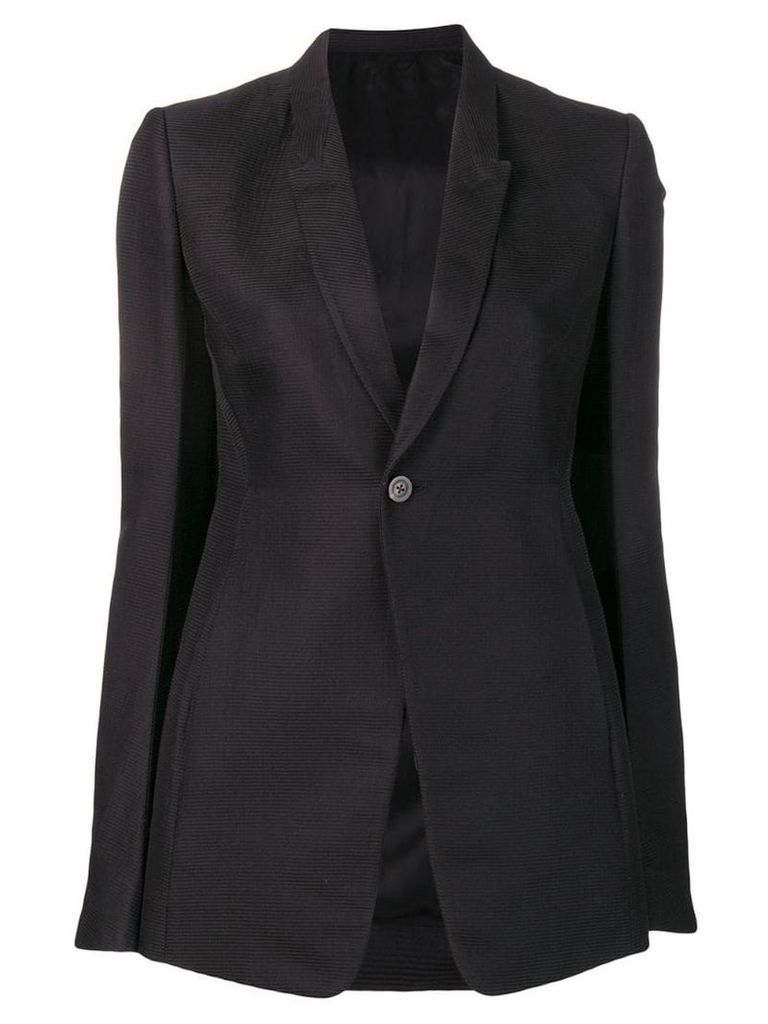 Rick Owens structured blazer - Black