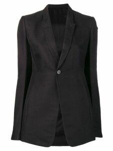 Rick Owens structured blazer - Black