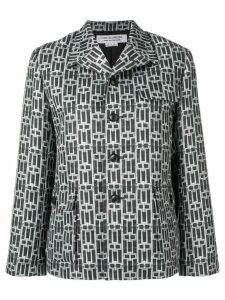 Comme Des Garçons Comme Des Garçons printed shirt jacket - Grey