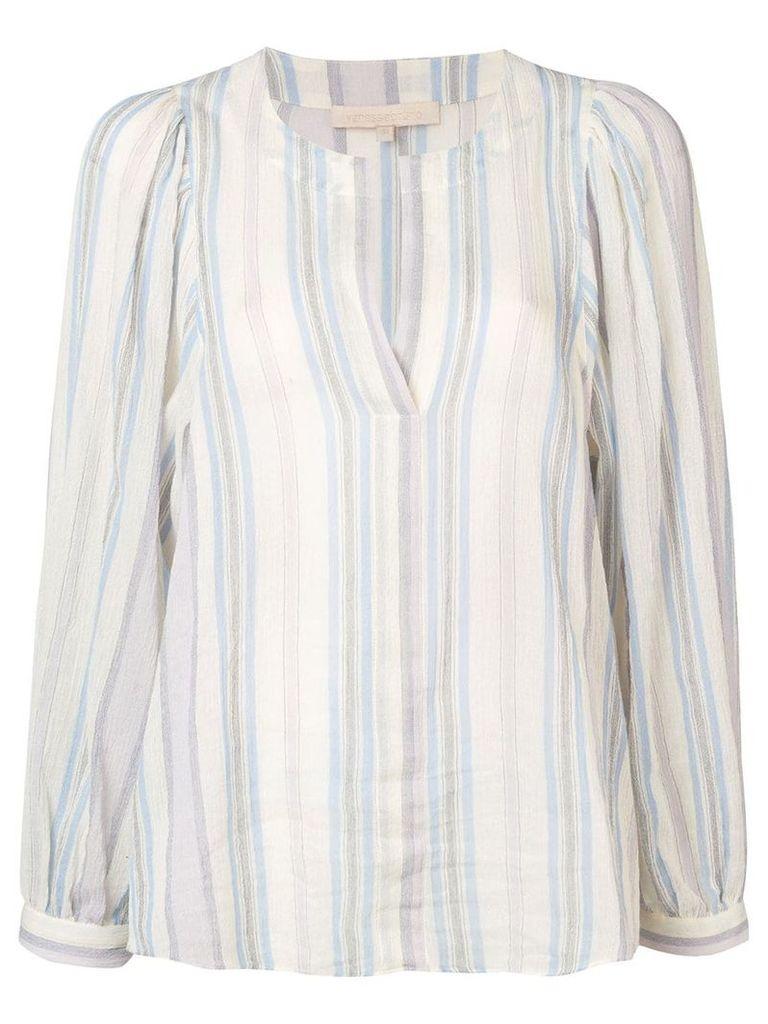 Vanessa Bruno striped longsleeved blouse - Purple