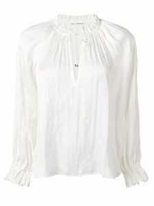 Ulla Johnson drawstring neck blouse - Neutrals