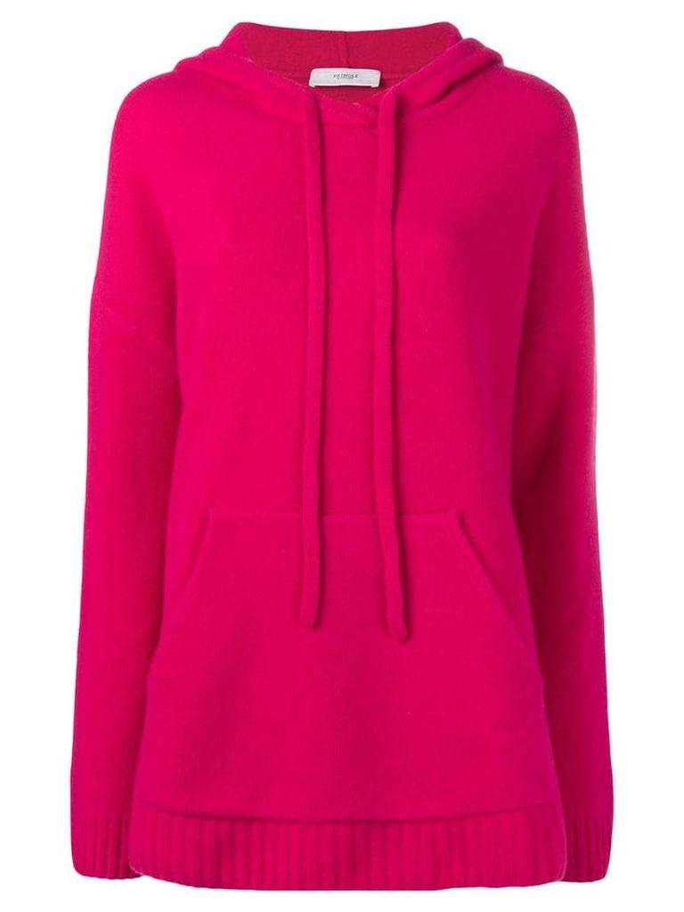 Pringle Of Scotland oversized soft hoodie - Pink