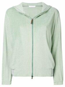 Fabiana Filippi zipped hoodie - Green