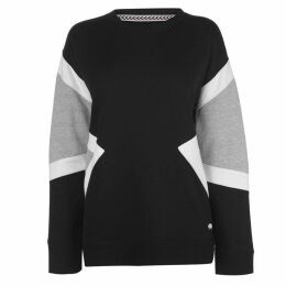 SoulCal Panel Crew Sweatshirt Ladies