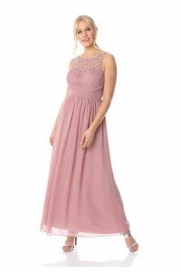 Bead Embellished Maxi Dress
