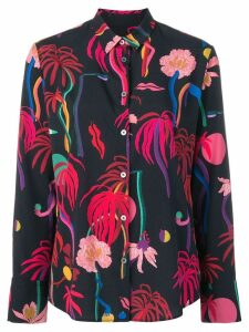 PS Paul Smith tropical print shirt - Blue