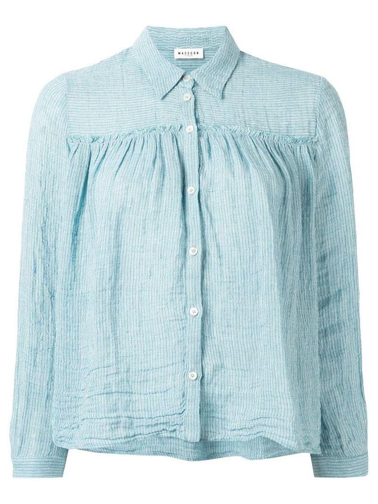 Masscob button down shirt - Blue