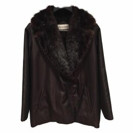 Brown Synthetic Coat