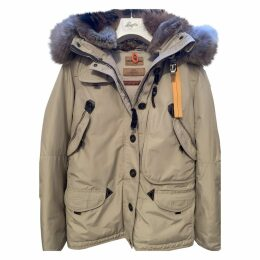 Beige Synthetic Coat
