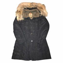Navy Synthetic Coat