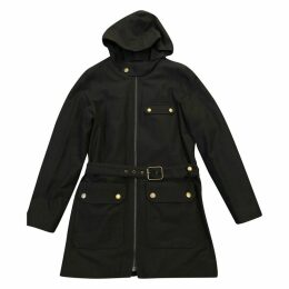 Navy Cotton Coat