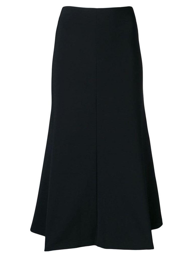 A.W.A.K.E. Mode flared midi skirt - Black