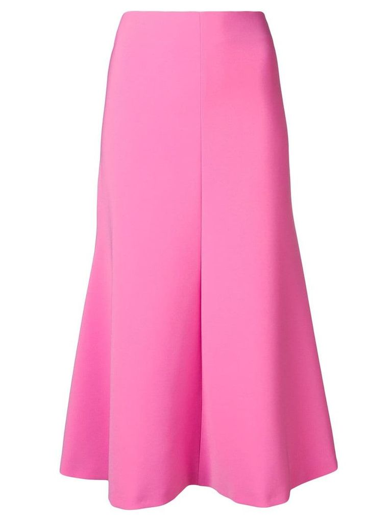 A.W.A.K.E. Mode flared midi skirt - Pink