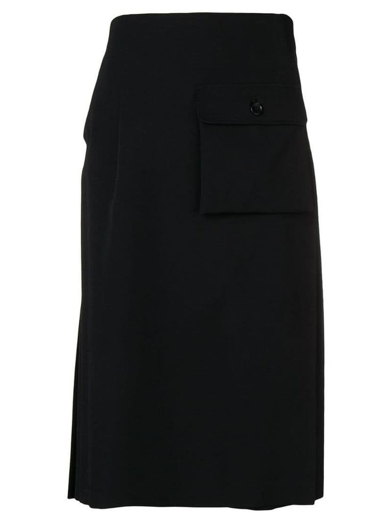 Comme Des Garçons Comme Des Garçons oversized pocket skirt - Black