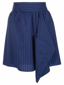 Maison Rabih Kayrouz pinstriped skirt - Blue