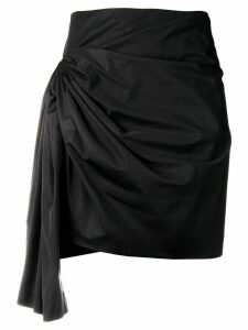 Givenchy short draped skirt - Black