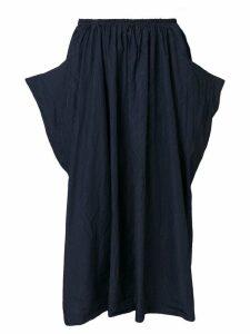 Comme Des Garçons Comme Des Garçons asymmetric midi skirt - Blue