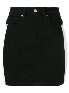 Calvin Klein Jeans side-stripe skirt - Black