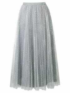Red Valentino polka dot tulle skirt - Grey