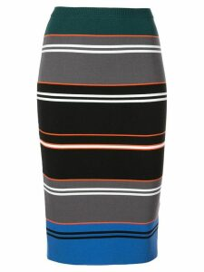 Nicole Miller striped knit pencil skirt - Multicolour
