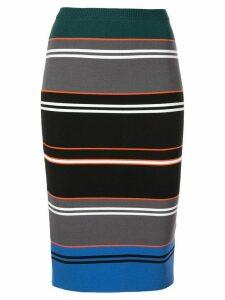 Nicole Miller striped knit pencil skirt - Multicolour