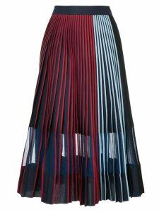Bodice Studio pleated midi skirt - Blue