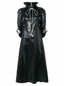 Calvin Klein 205W39nyc zip front trench coat - Black