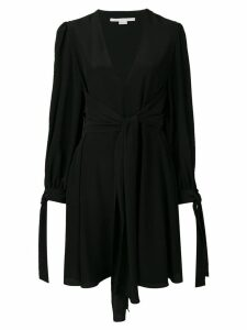 Stella McCartney tie waist dress - Black