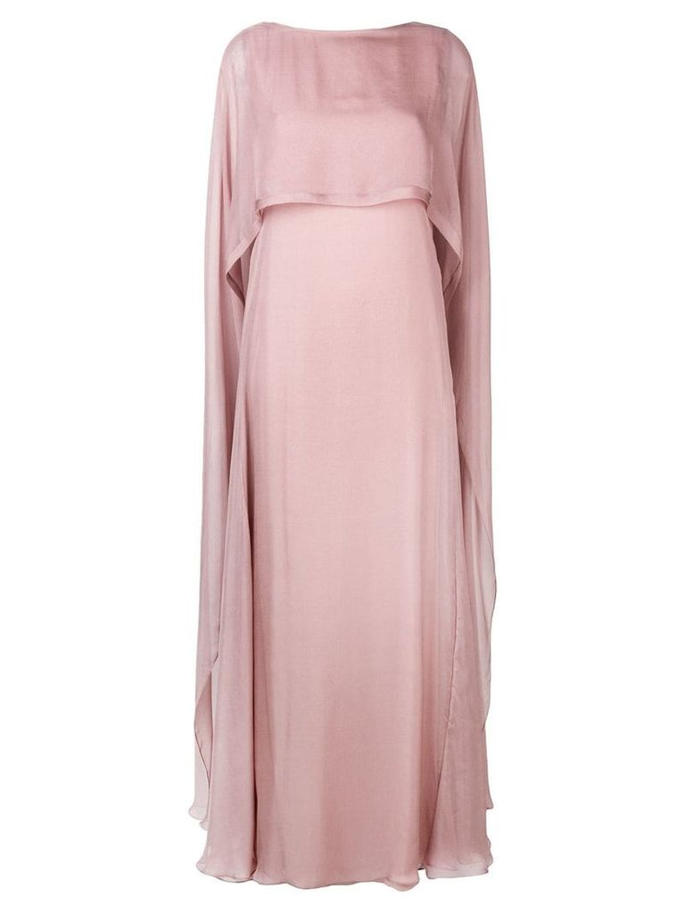 Irina Schrotter long sleeveless dress - Pink