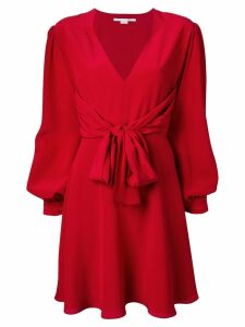 Stella McCartney tie waist dress - Red