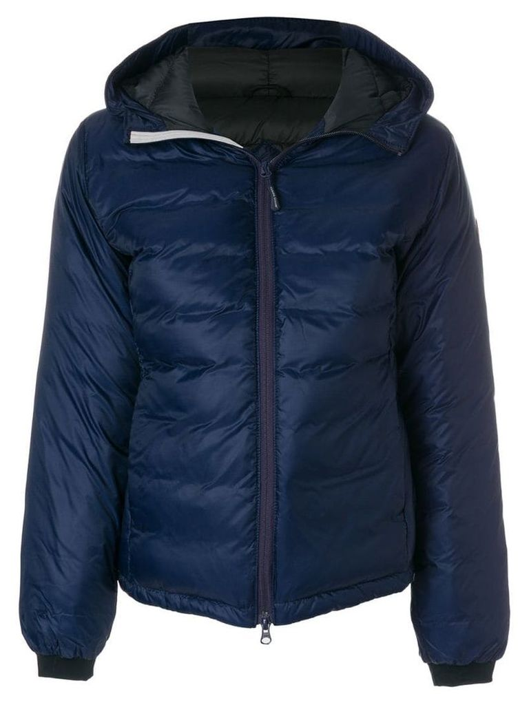 Canada Goose padded hooded jacket - Blue