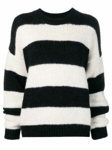 Dsquared2 oversized striped sweater - Black