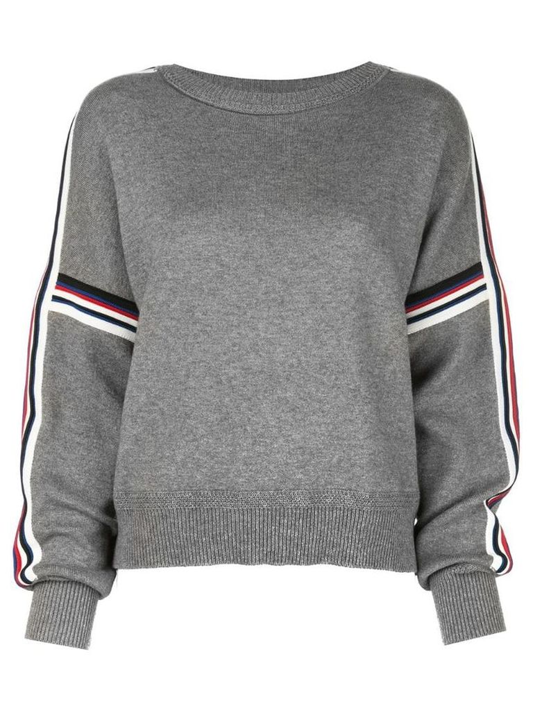 Isabel Marant Étoile stripe detail sweater - Grey