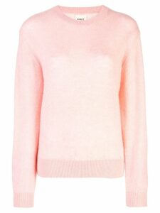 Khaite fine knit sweater - Pink