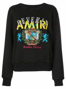 Amiri printed sweatshirt - Black