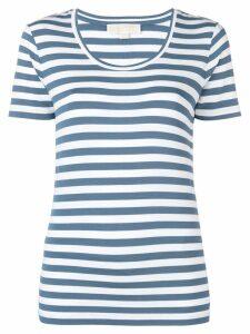 Michael Michael Kors stripe print T-shirt - Blue