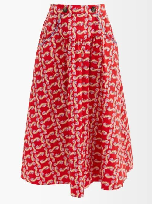Marni - Caddy Satin Cross Body Bag - Womens - Black