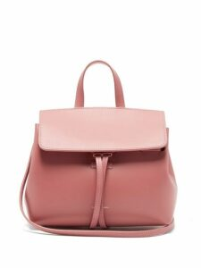 Mansur Gavriel - Mini Mini Lady Leather Cross Body Bag - Womens - Light Pink