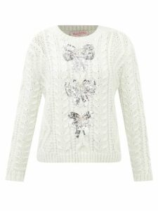 Cult Gaia - Willow Puff Sleeve Eyelet Lace Maxi Dress - Womens - Green