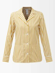 Cult Gaia - Simona Ruffled Off The Shoulder Midi Dress - Womens - Dark Red
