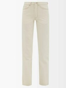 Alexander Mcqueen - Sarabande-lace V-neck Peplum Dress - Womens - Black