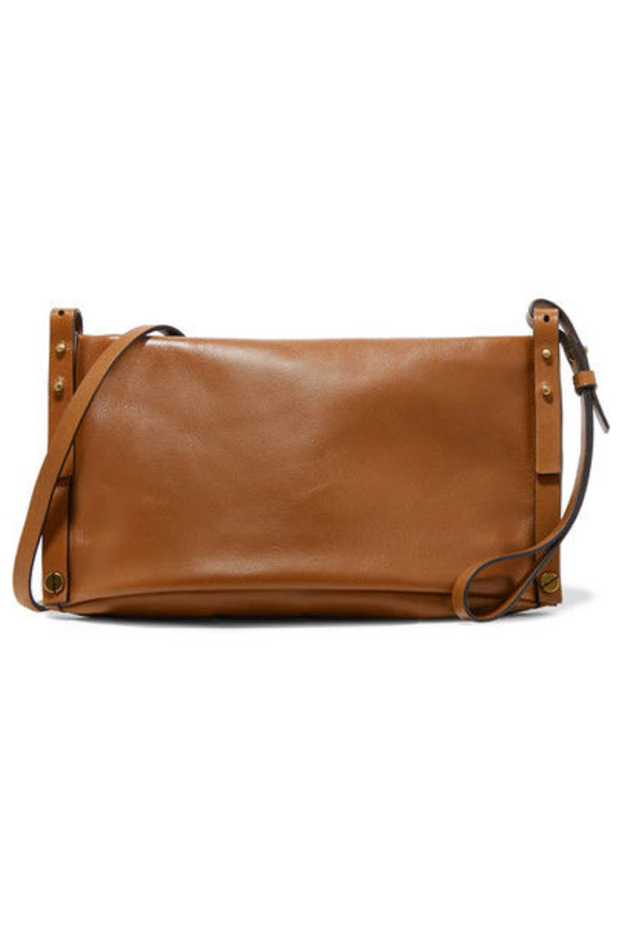 Isabel Marant - Drissa Leather Shoulder Bag - Tan