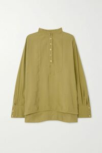 Balenciaga - Bb Quilted Textured Patent-leather Shoulder Bag - Black