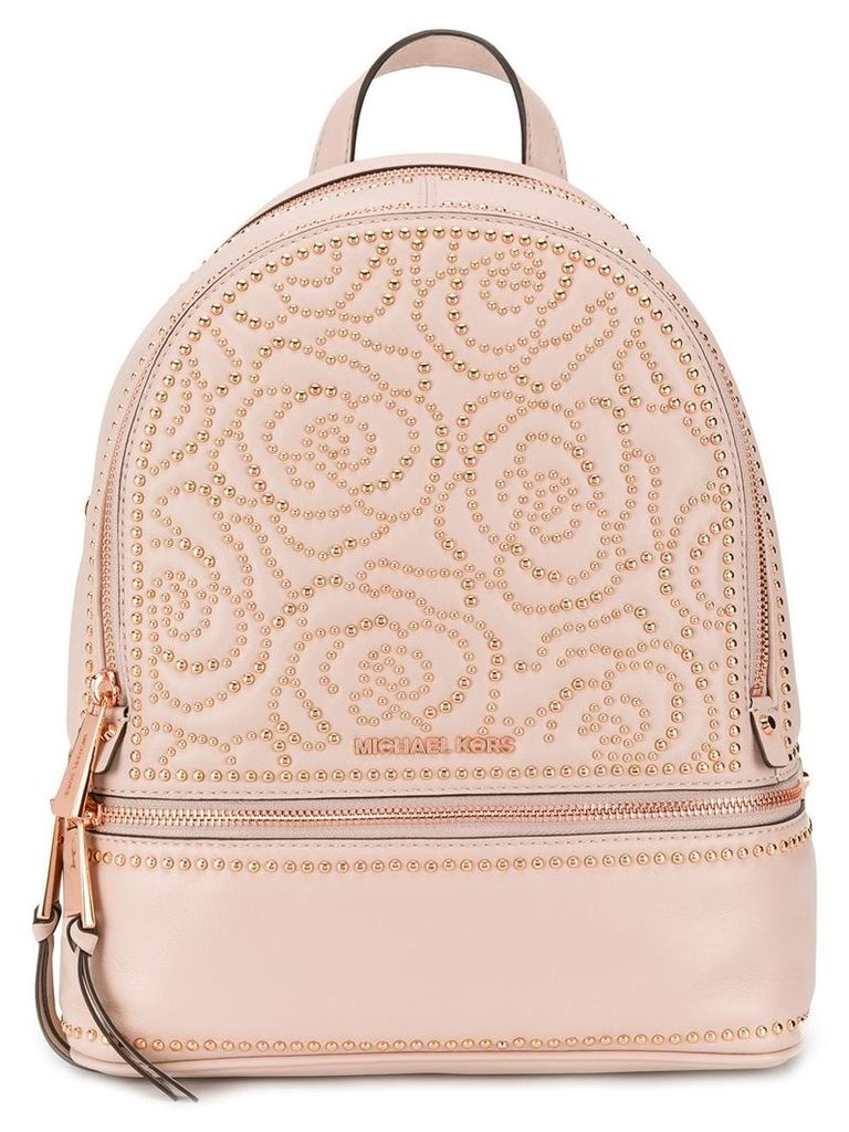 Michael Michael Kors Rhea studded backpack - Pink