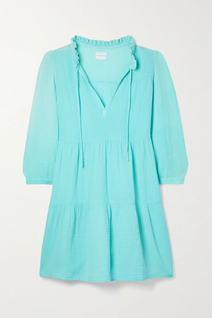 Valentino - Embellished Double-breasted Wool Peacoat - Navy
